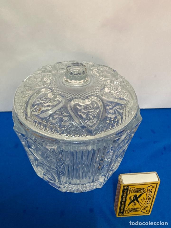 Antigüedades: Azucarero de cristal Italiano. años 70. - Foto 5 - 254632075