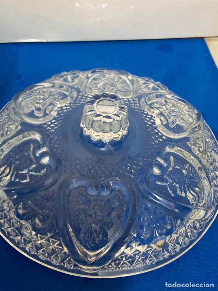 Antigüedades: Azucarero de cristal Italiano. años 70. - Foto 8 - 254632075