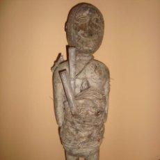 Antigüedades: RARA Y ANTIGUA TALLA DE MADERA FETICHE AFRICANO , MEDIADOS DE SIGLO XIX. Lote 254634960