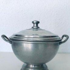 Antigüedades: ANTIGUA SOPERA DE ALUMINIO. Lote 254647135