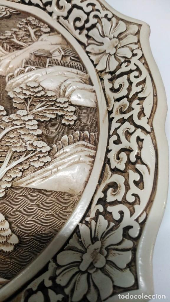 Antigüedades: Plato japonés antiguo - Foto 7 - 244603485