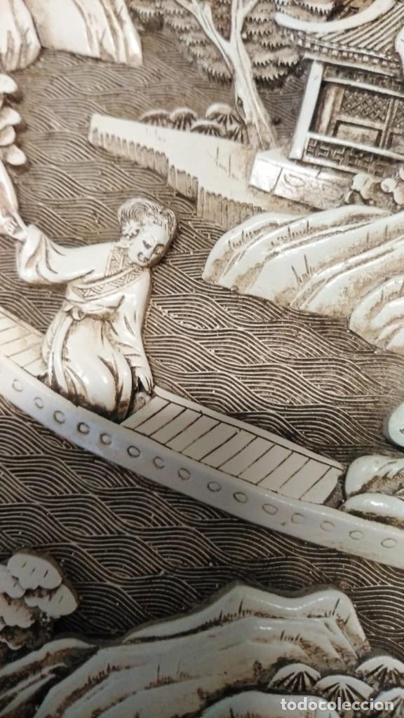 Antigüedades: Plato japonés antiguo - Foto 8 - 244603485