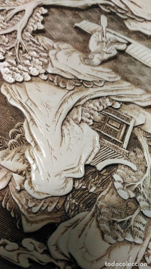 Antigüedades: Plato japonés antiguo - Foto 10 - 244603485
