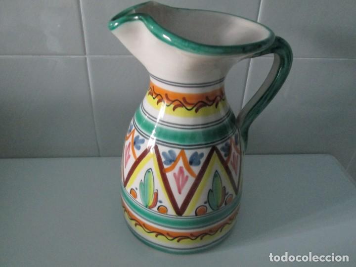 PRECIOSA JARRA PARA VINO O AGUA (Antigüedades - Porcelanas y Cerámicas - Puente del Arzobispo )