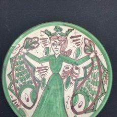 Antigüedades: BONITO PLATO DE DECORACIÓN PUNTER. Lote 254671650