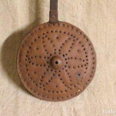 Antigüedades: CALENTADOR DE CAMA. Lote 254713100