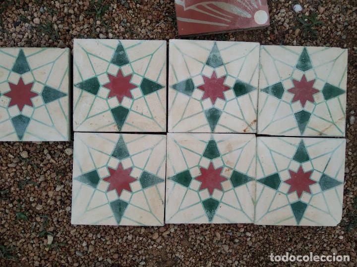 Antigüedades: Baldosa hidraulicas - Foto 2 - 254753755