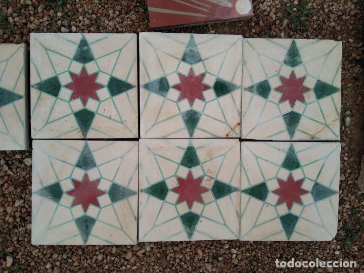 BALDOSA HIDRAULICAS (Antigüedades - Porcelanas y Cerámicas - Catalana)