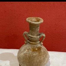 Antigüedades: JARRON PEQUEÑO EMPOLVADO DE BLANCO. Lote 254756525