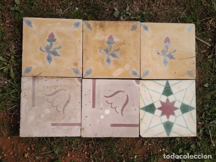 BALDOSAS HIDRÁULICAS (Antigüedades - Porcelanas y Cerámicas - Catalana)