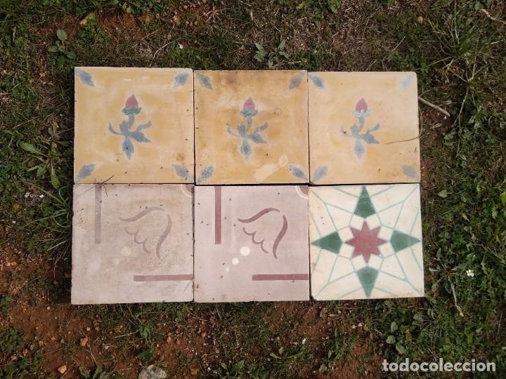 Antigüedades: Baldosas hidráulicas - Foto 2 - 254756815