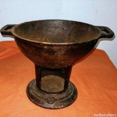 Antigüedades: COCINA PORTATIL. HIERRO FUNDIDO.ENVIO CERTIFICADO INCLUIDO.. Lote 254758280