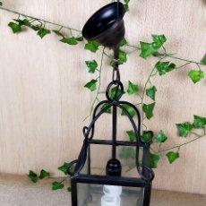 Antigüedades: LAMPARA BFAROL EN FORJA. Lote 254760060