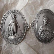 Antigüedades: OR60. SELLOS VIRGEN Y CORAZÓN DE JESÚS. Lote 254761525