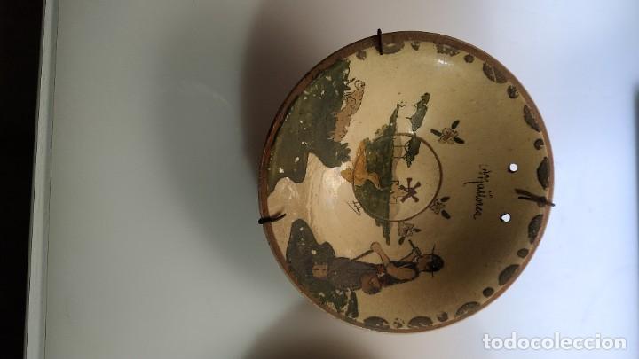 Antigüedades: DOS ANTIGUOS PLATOS DE CERAMICA DE MALLORCA - Foto 3 - 254775490
