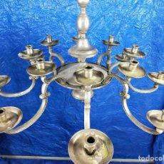 Antigüedades: LAMPARA DE TECHO 14 BRAZOS. Lote 254780460