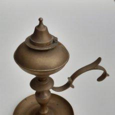 Antigüedades: QUINQUE DE BRONCE. Lote 254786635