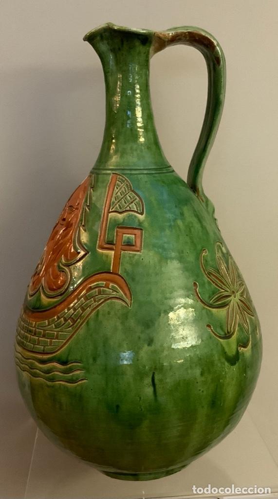 GRAN JARRA TITO DE ÚBEDA (1955) (Antigüedades - Porcelanas y Cerámicas - Úbeda)