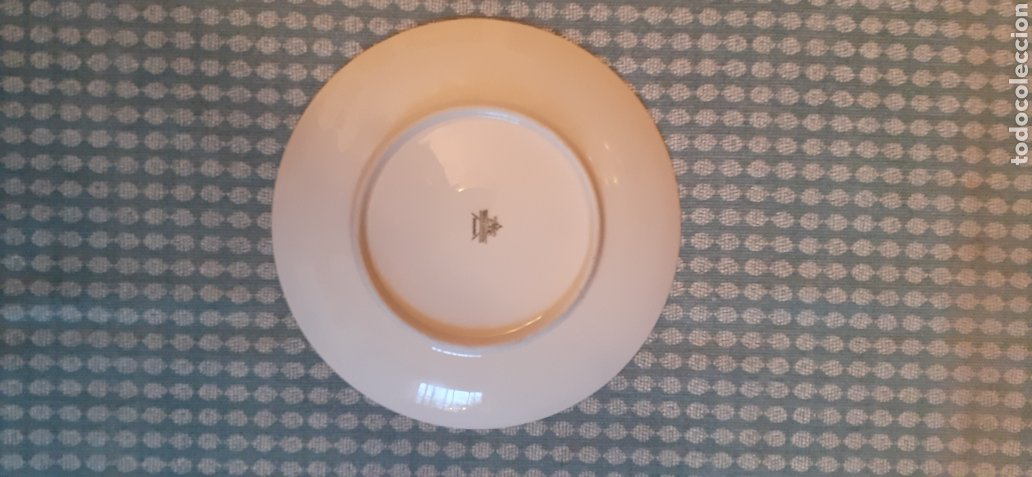Antigüedades: Plato de porcelana, TIRSCHENREUTH BAVARIA, 19,5 cm - Foto 6 - 254804240