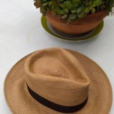 Antigüedades: SOMBRERO ORIGINAL PANAMANIA HATS. Lote 254809960