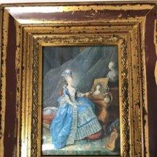 Antigüedades: CORTESANA FRANCESA AL USO DEL XVIII. PARA VITRINA O TOCADOR. Lote 254815655