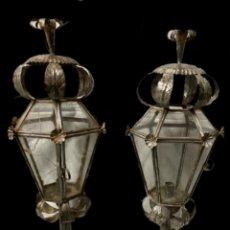 Antigüedades: ESPECTACULARES FAROLES DEL SIGLO XIX.. Lote 254828440