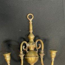 Antigüedades: BONITO APLIQUE DE BRONCE. Lote 254873750