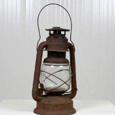 Antigüedades: FAROL DE TORMENTA, DE LA CASA FROWO, 1895.. Lote 254876555