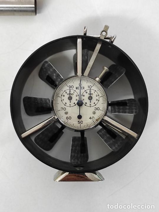 Antigüedades: Antiguo Anemómetro Wilh Lambrecht A.G Göttingen - con Caja - Data 6 Junio 1930 - Foto 3 - 254896250