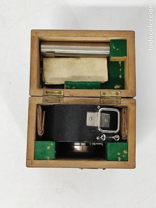 Antigüedades: Antiguo Anemómetro Wilh Lambrecht A.G Göttingen - con Caja - Data 6 Junio 1930 - Foto 7 - 254896250