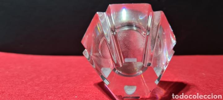 Antigüedades: Preciosa pieza de cristal con reloj. Orrefors Sweden - Foto 3 - 254907670