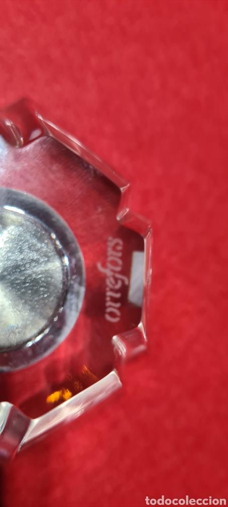 Antigüedades: Preciosa pieza de cristal con reloj. Orrefors Sweden - Foto 11 - 254907670