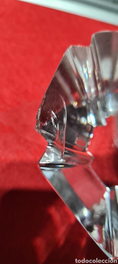 Antigüedades: Preciosa pieza de cristal con reloj. Orrefors Sweden - Foto 12 - 254907670
