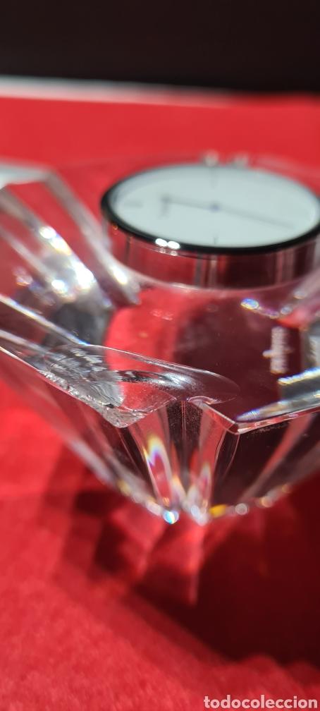 Antigüedades: Preciosa pieza de cristal con reloj. Orrefors Sweden - Foto 13 - 254907670