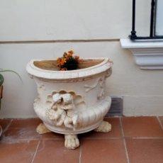 Antigüedades: MACETERO DE TERRACOTA. Lote 254919945