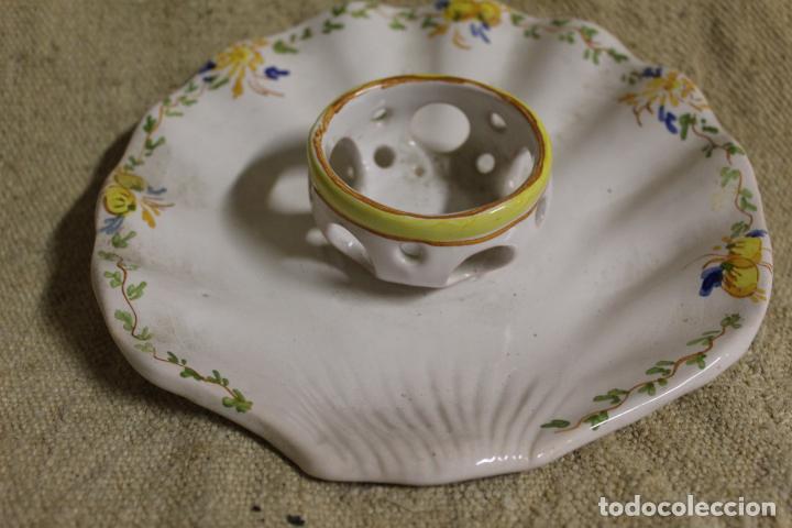Antigüedades: mancerina de alcora - Foto 4 - 254920075