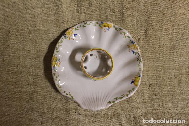 Antigüedades: mancerina de alcora - Foto 7 - 254920075