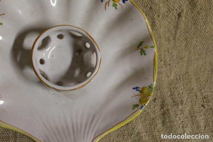 Antigüedades: mancerina de alcora - Foto 3 - 254920115