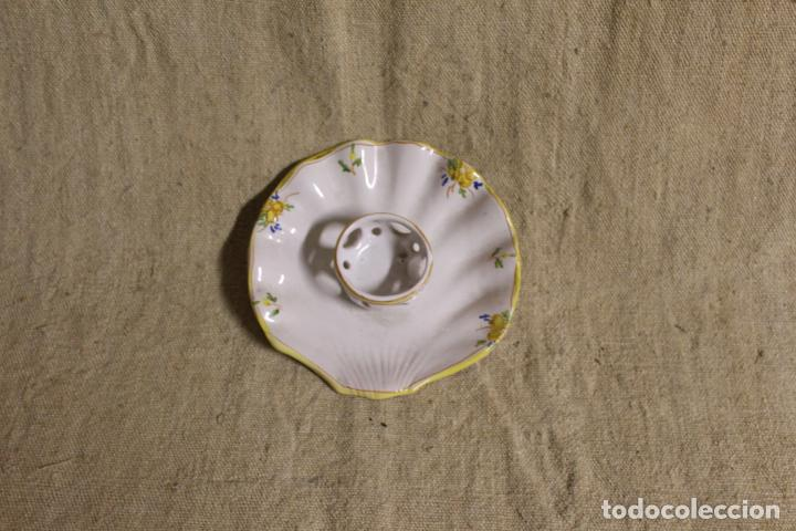 Antigüedades: mancerina de alcora - Foto 6 - 254920115