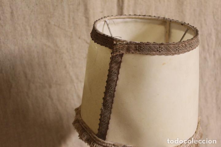 Antigüedades: lampara de sobremesa de bronce - Foto 3 - 254920680