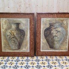 Antigüedades: PAREJA DE CUADROS. Lote 254952625