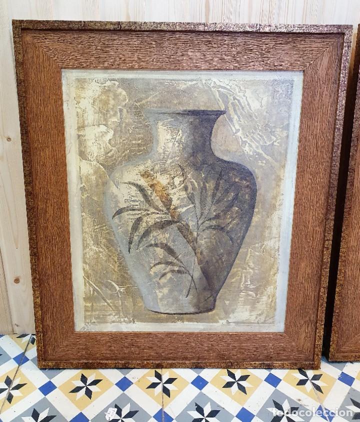 Antigüedades: PAREJA DE CUADROS - Foto 2 - 254952625