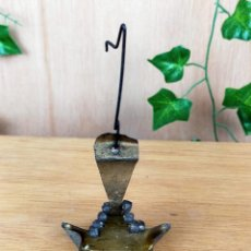 Antigüedades: LAMPARA LAMPARITA ACEITE. Lote 254957455