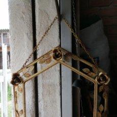 Antigüedades: MARCO DE HIERRO PARA ESPEJO. Lote 254961880