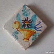 Antigüedades: AZULEJO. FÁBRICA DE VALENCIA. SIGLO XVIII. CONSERVACIÓN EXCEPCIONAL. ORIGINAL¡¡¡¡. Lote 254971100