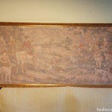Antigüedades: ANTIGUO TAPIZ DE GRANDES DIMENSIONES DEL PRINCIPIO DEL SIGLO XX. Lote 254981290
