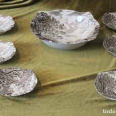 Antigüedades: JUEGO DE PORCELANA INGLESA, MARCA JOHNSON BROTHERS, SERIE COTSWOLD.. Lote 254985915