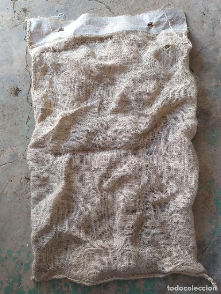 Antigüedades: Saco de Arpillera de papas o patatas de semilla - Foto 2 - 254996635