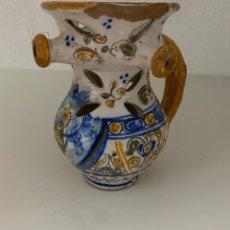 Antiguidades: ANTIGUA JARRA DE TALAVERA. Lote 255013260