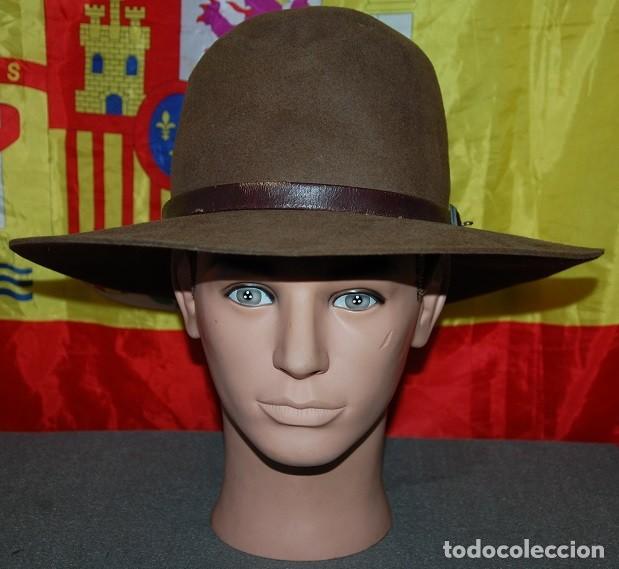 SOMBRERO DE ALA ANCHA CASTELLANO TALLA 60/62 (Antigüedades - Moda - Sombreros Antiguos)